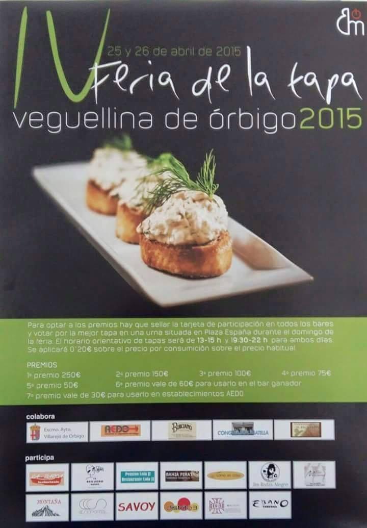 Veguellina de Órbigo celebra su IV Feria de la Tapa