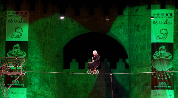 'Paseen y vean'. Vuelve el festival Cir&Co a las calles de Ávila