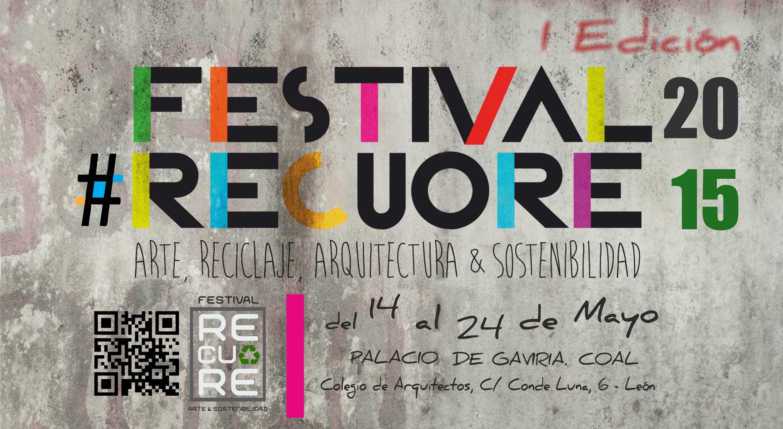 León acoge en mayo el I Festival Recuore de reciclaje artístico