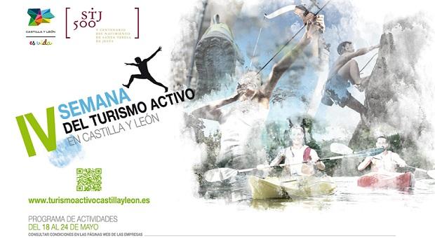 En mayo se podrá disfrutar de la IV Semana del Turismo Activo en Castilla y León