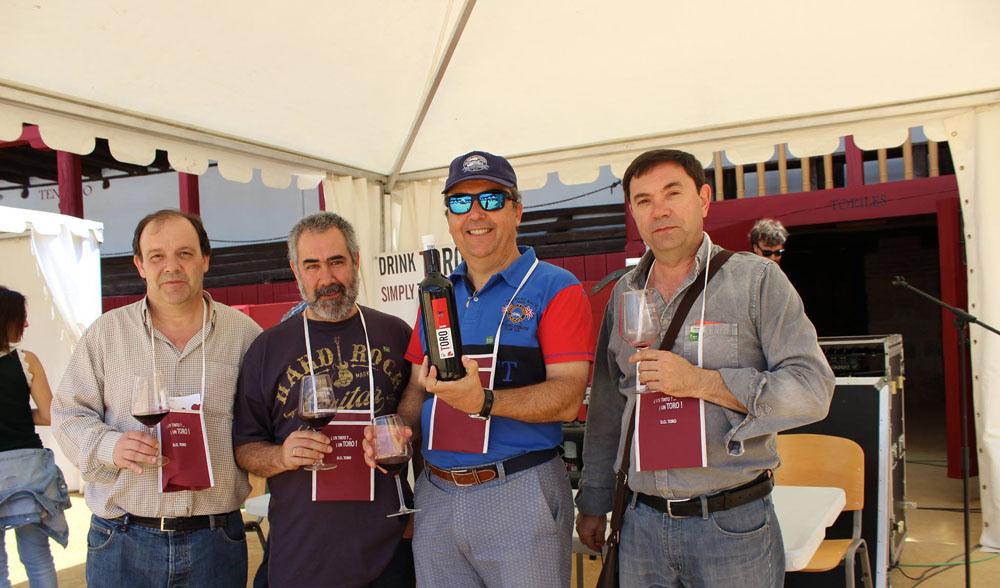 Asistentes a la Feria del Vino de Toro 2016