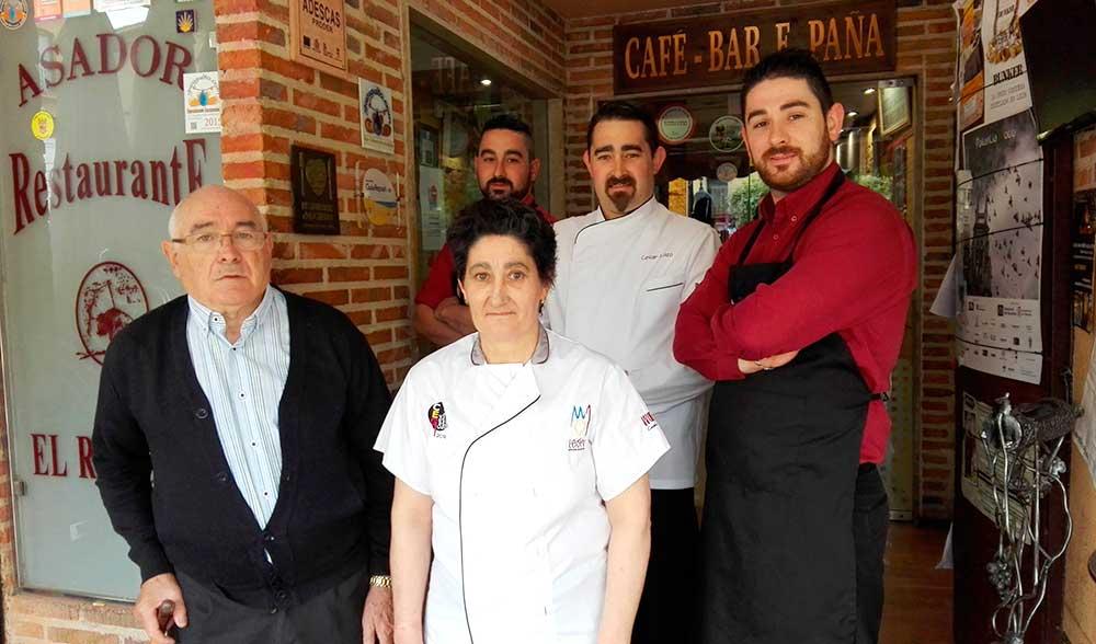 Restaurante-El-Ruedo-Sahagun-Familia-Lazo