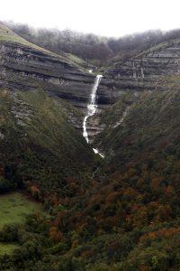 Cascada de San Miguel, en el Valle de Mena
