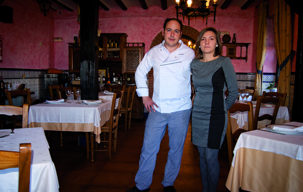 Raúl Amor e Isabel Rojo, de La Casa de Piedra