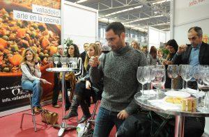 Cata de vinos en el Salón de la Alimentación 2013