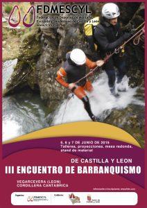 III Encuentro de Barranquismo de Castilla y León