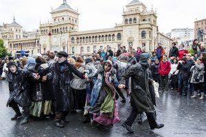 Las artes escénicas toman las calles de Valladolid