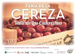 Descubre todos los detalles de la cereza del Valle de las Caderechas (Burgos) en su gran feria
