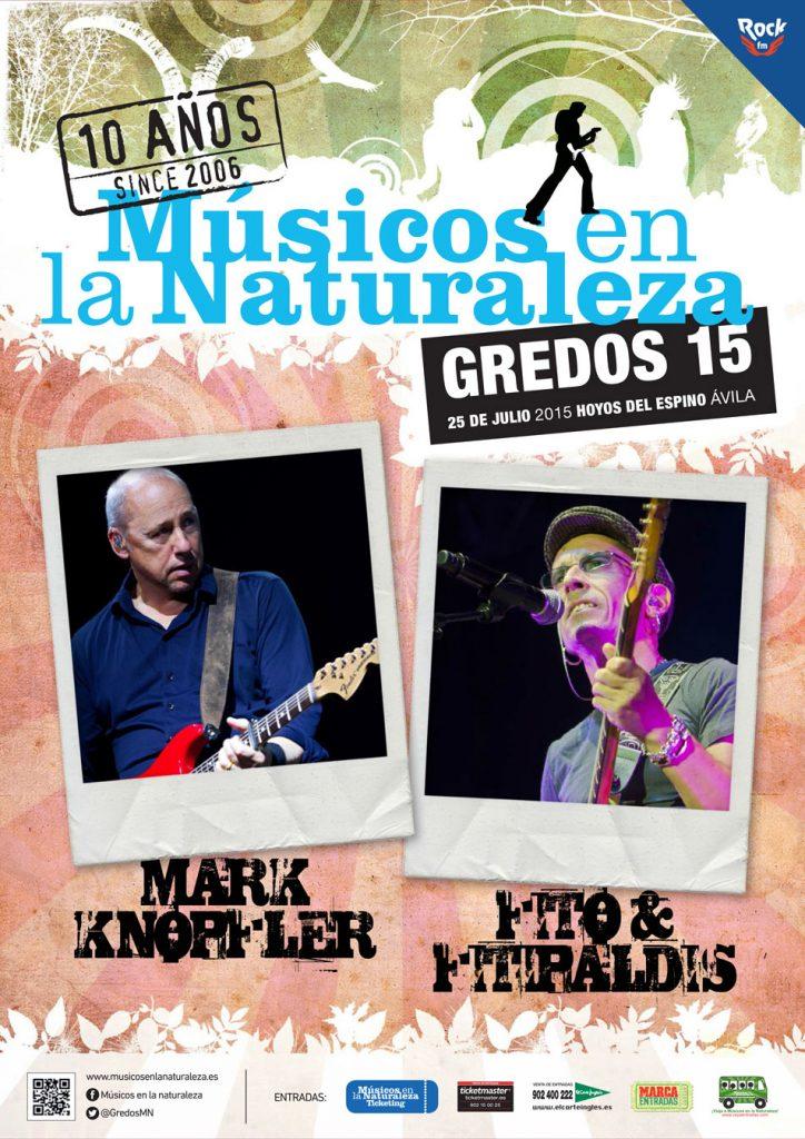 Mark Knopfler y Fito & Fitipaldis, presentes en el X Festival de Músicos en la Naturaleza