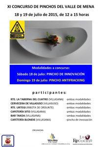 cartel pinchos 2015
