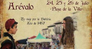Arévalo (Ávila) acogerá sus V Jornadas Medievales del 24 al 25 de julio