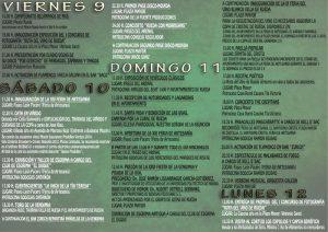 Programa Fiesta Vendimia Rueda