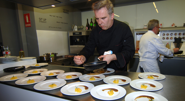 Jorge Carretero, del restaurante San Antonio