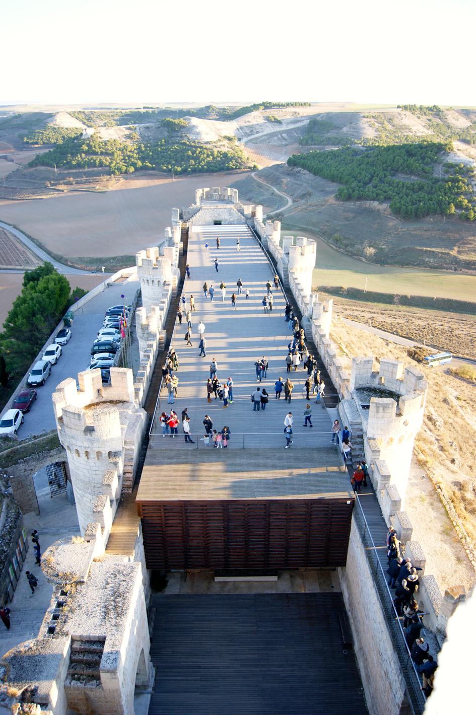 Castillo de Peñafiel, Ricardo Ortega
