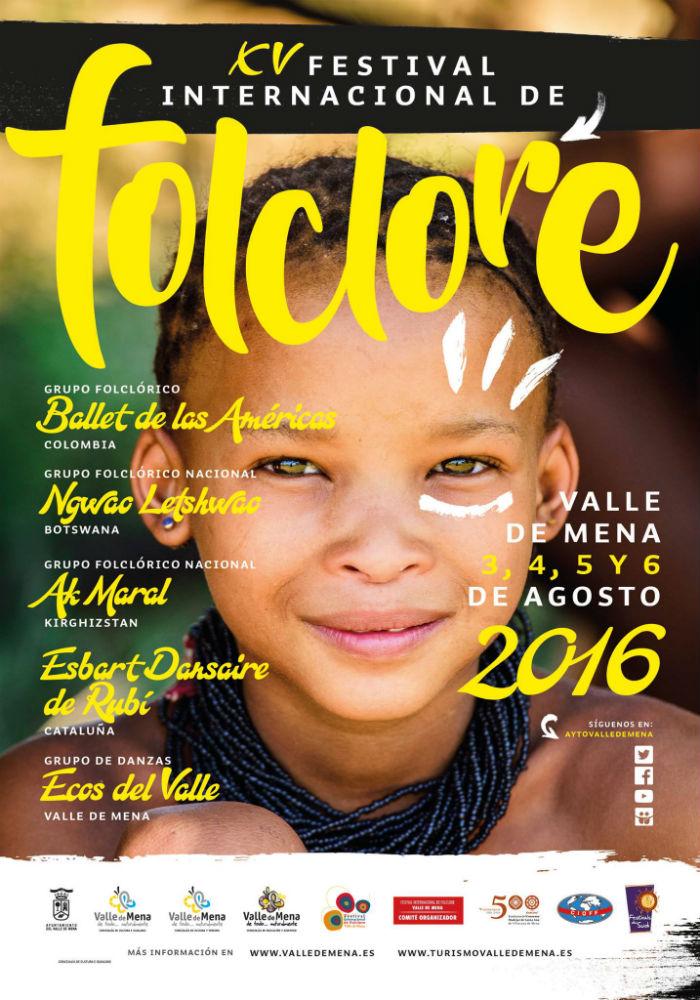 Cartel festival folklore valle de mena 2016
