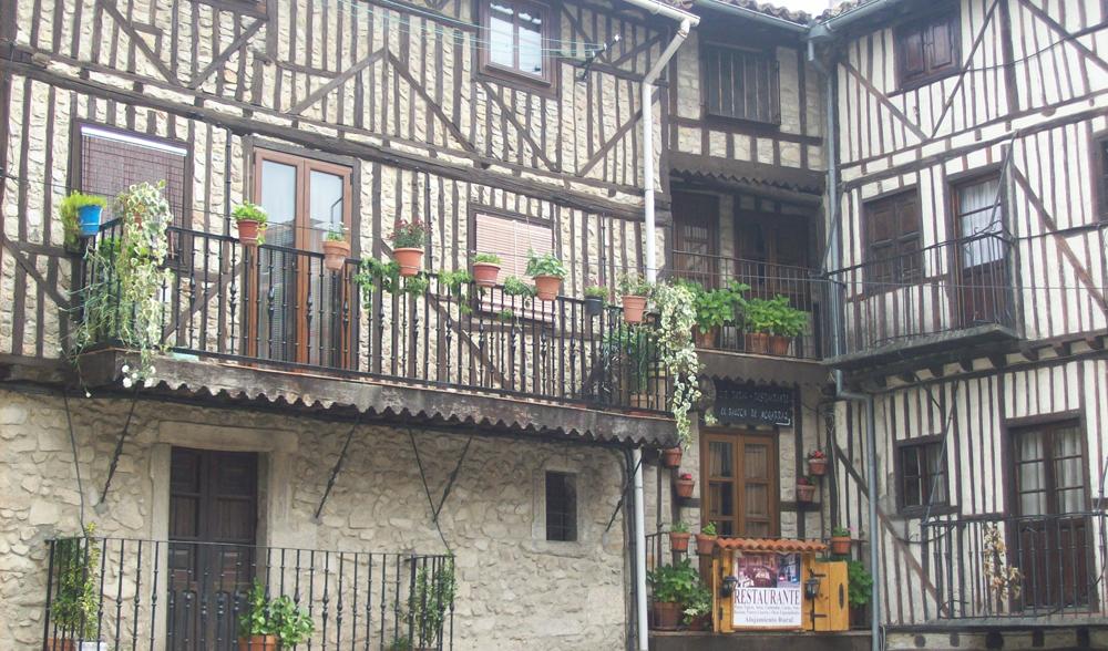 Mogarraz, en la Sierra de Francia