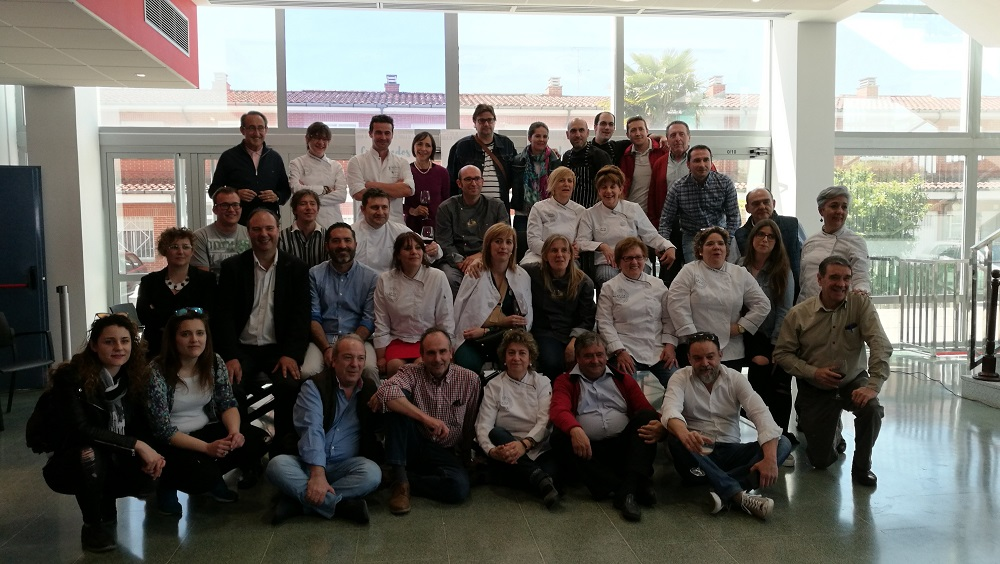 Cocineros de CyL asistentes al acto
