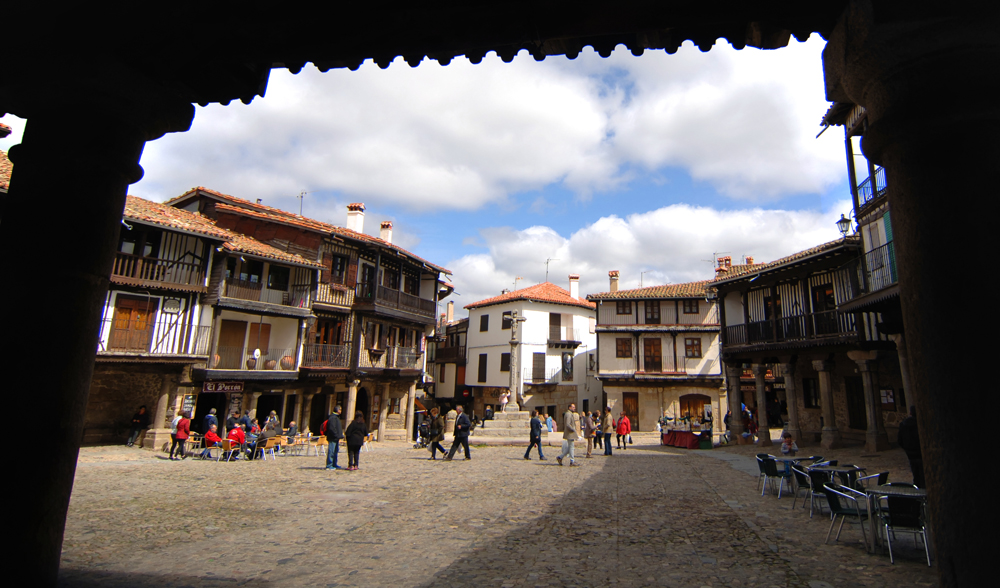 plaza mayor, la alberca, salamanca