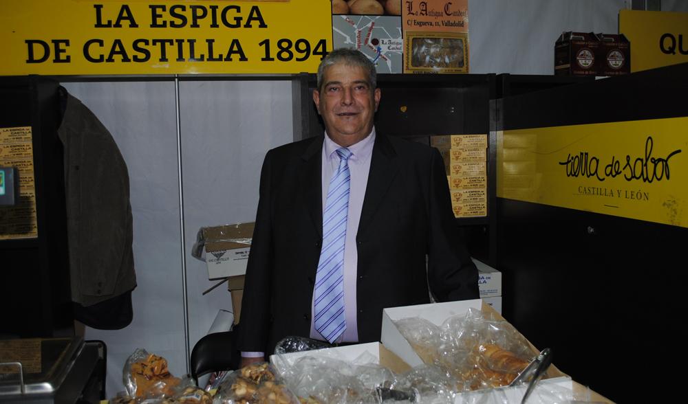 Evergislo Matías, presidente de la Asociación de Artesanos Alimentarios
