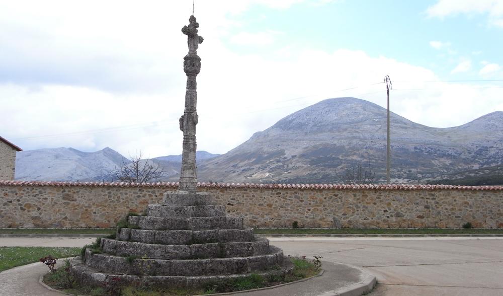 Cruz de Término, Traspena