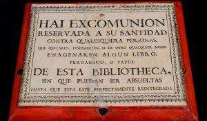 Cédula de excomunión. Estado final