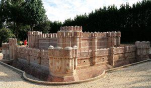 Réplica del castillo de Coca (Segovia). Foto: Cristina Martín.