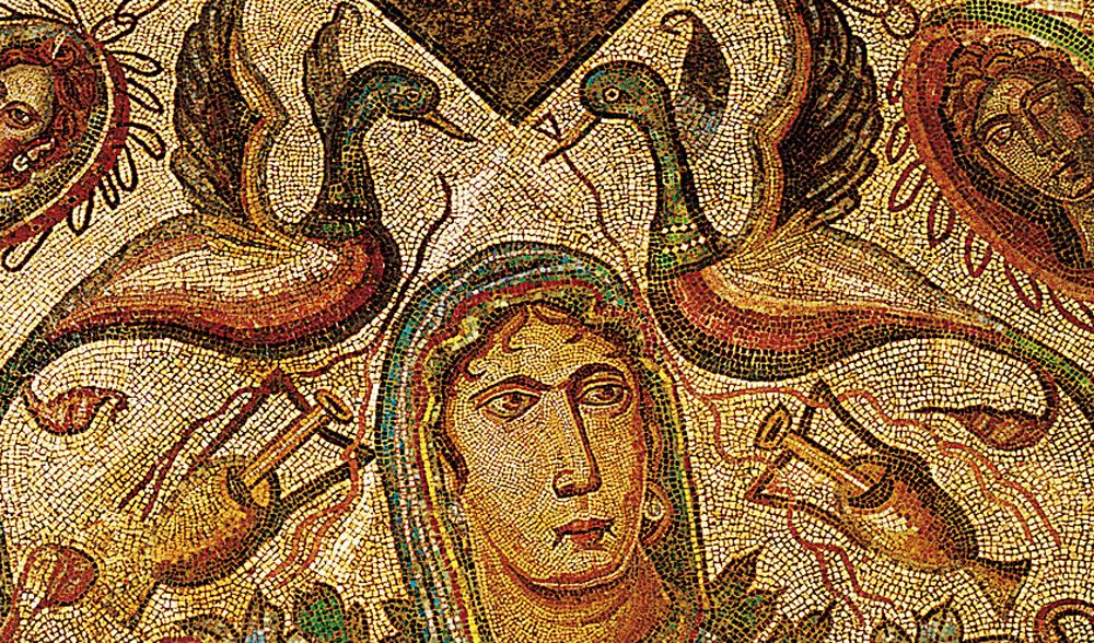 Mosaico del Oecus