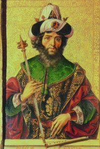 Rey David, Berruguete