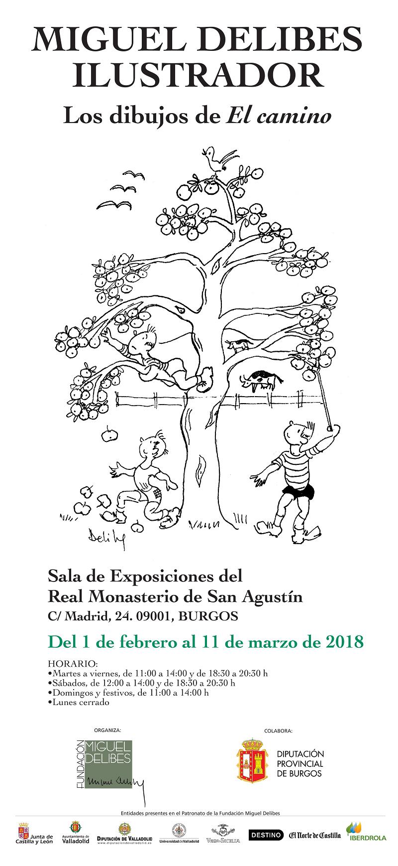 cartel miguel delibes