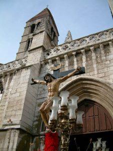 Valladolid - Santísimo Cristo de la Preciosa Sangre (Lázaro Gumiel - 1953)