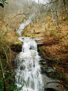 Cascada en Aguasal
