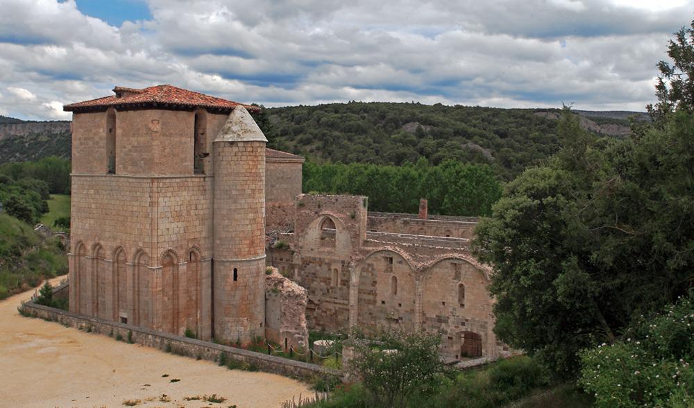 XXIX Descenso del Arlanza07. Real Monasterio de San Pedro de Arlanza
