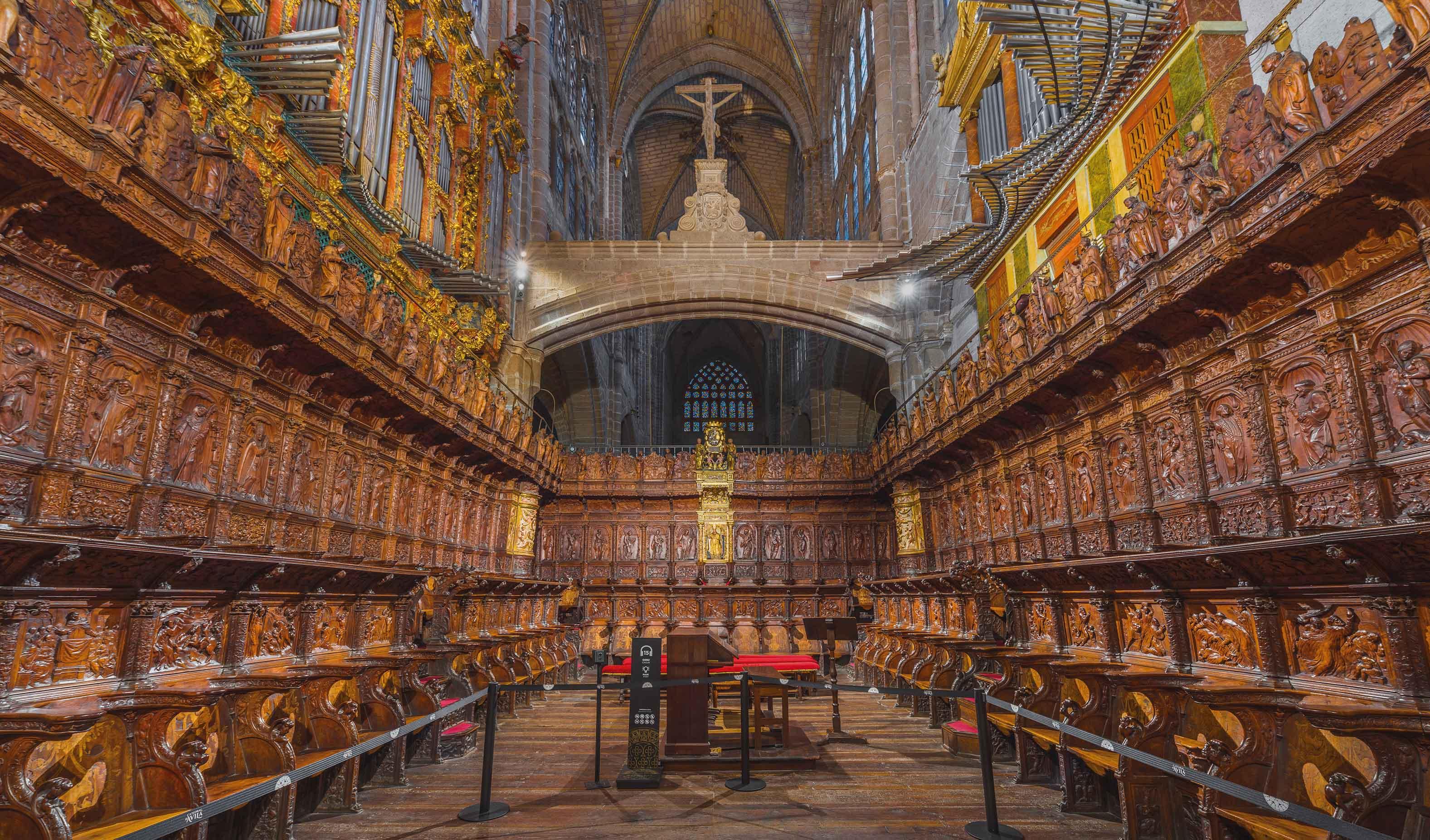 coro catedral avila