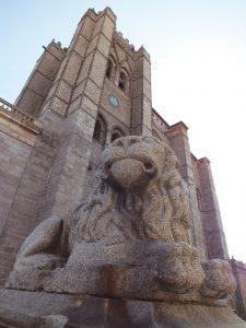 exterior catedral avila