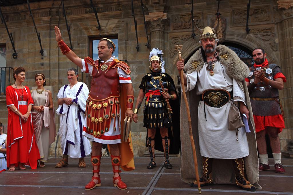 Astures y Romanos16. Recibimiento al Cesar