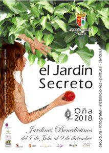 CARETEL JARDIN SECRETO para web 2018