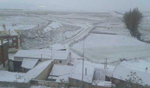 nieve, temporal