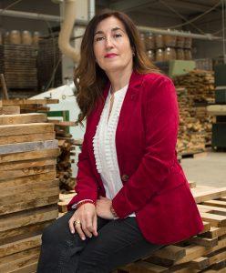 Mercedes Calvo, gerente de Tonelería Duero