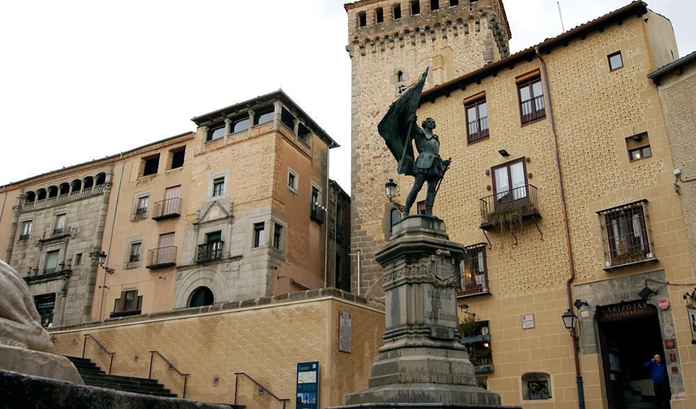 Juan Bravo comuneros Segovia